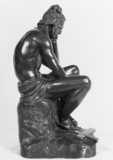 Statue of Chactas, from Chateaubriand's Atala