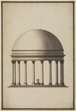 Design for a circular temple - Tempio del Sole