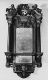 Church of St Dunstan-in-the-West;Monument to Edward and Katherine Marshall