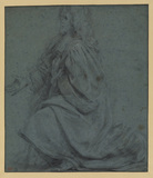 Study for kneeling Echevin