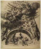 Design for the decoration of the dome of Saint Paul's, London