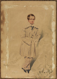 Portrait of a boy, full length