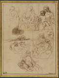 Studies for a Virgin and Child