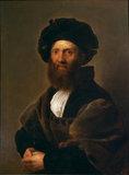 Portrait of Baldassare Castiglione (after Raffaello Sanzio)