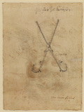 Pair of tongs (verso)