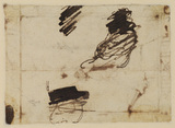 Unidentified sketches (verso)