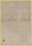 Fragment of figure study (verso)