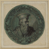 Medallion portrait of Francesco Orsino, Duke of Gravina