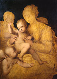Holy Family with Saint John the Baptist