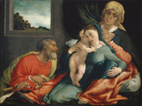 Holy Family with Saints Anne and Joachim