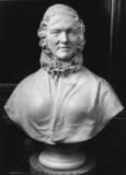 Bust of an elderly lady, possibly the Countess of Dunmore