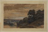Landscape with a wayfarer