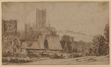 View of Canterbury with the Cathedral