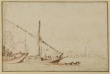 Feluccas in harbour