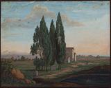Italian landscape scene