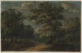 Wood-landscape (recto)