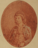 Half-length portrait of a boy
