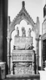 San Domenico Maggiore;Tomb of Cristoforo d'Aquino and Tommaso d' Aquino