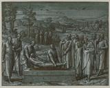 Abraham burying Sarah