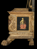 Chest and spalliera with the arms of Lorenzo Morelli and Vaggia Nerli (The Morelli Chest)