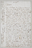 Letter from Sir Peter Paul Rubens to Sir Balthasar Gerbier, late April/May 1640 (undated) (recto)