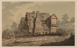 Group of old houses in a landscape (engraved by J.C.Stadler, 1792 - Witt Coll.)