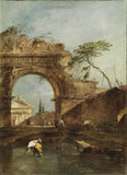 Landscape - capriccio