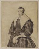 Three-quarter length portrait of a lady