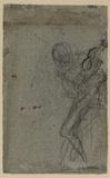Nude figure (verso)