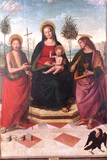 Virgin and Child between Saint John the Baptist and Saint John the Evangelist