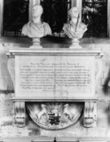 Monument to Allen Earl Bathurst and Catherine, his wife