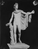 Apollo di Belvedere, Roman copy after Greek original of 4th century BC