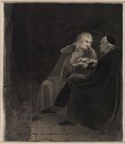 Two men in conversation (verso) (related to Fuseli's painting 'The Artist in Conversation with Bodmer', 1779-1780) (related to verso of 643) (see 644A)
