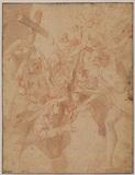 Christ descending into Limbo (recto)