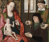 Virgin and Child with Saint Stephen and a donor