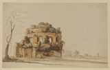 Ruins of a circular temple