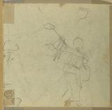 Figurative sketch (verso)
