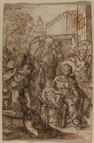 Adoration of the shepherds (recto)