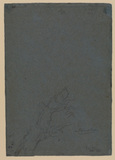 Sketch of an oak (verso)