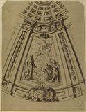 Shipwreck of Saint Paul (design for the decoration of the dome of Saint Paul's, London)