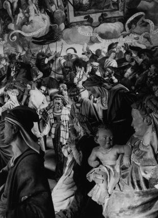 Sacro Monte;Christ Nailed to the Cross