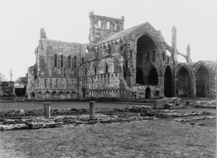 Melrose Abbey;Abbey Church