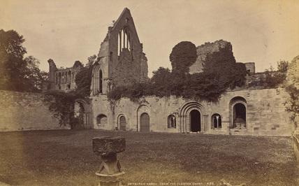 Dryburgh Abbey;Cloister
