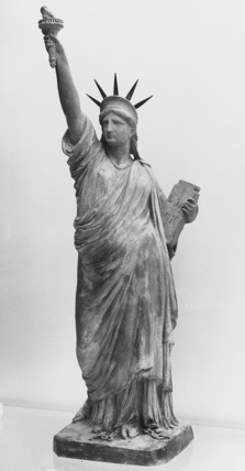 Small model for the Statue of Liberty