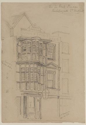 Sir Paul Pindar's Wine Shop, Bishopgate Street, London