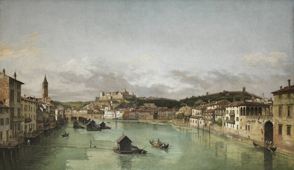 View of Verona (after Bernardo Bellotto)