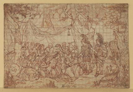 Copy of Charles Lebrun's 'The Family of Darius before Alexander'