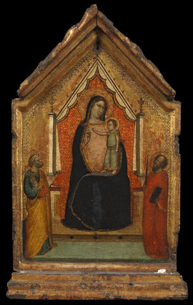 Virgin and Child with Saint Peter and Saint Paul