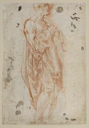 Study for 'Saint Jerome' (verso)