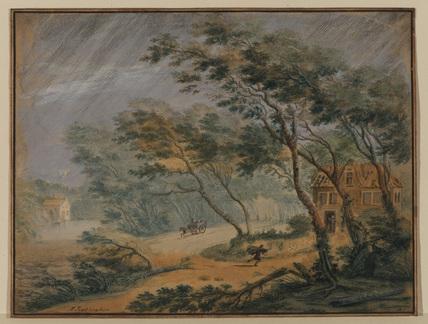 Landscape - a storm